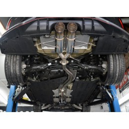 CAT BACK SUS PLUS DUAL 70RS - J'S RACING - Honda Civic Type R FK8 18+