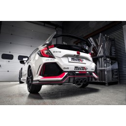 Cat-back ROAD + - Milltek - Honda Civic Type R FK8